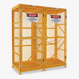 Assembled Gas Cages
