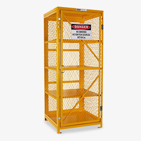 Flat Packed Gas Cages
