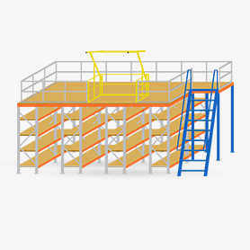 Mezzanine Floors & Raised Storage Areas