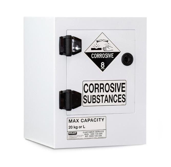Poly Corrosive Cabinet 20 Liters - 1 Door, 1 Shelf