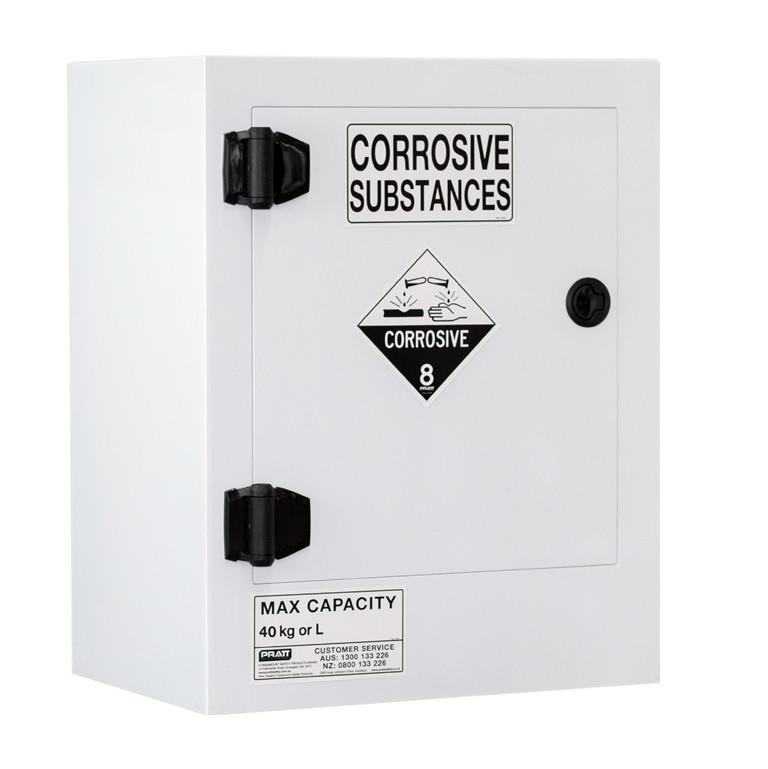 Poly Corrosive Cabinet 40 Liters - 1 Door, 1 Shelf