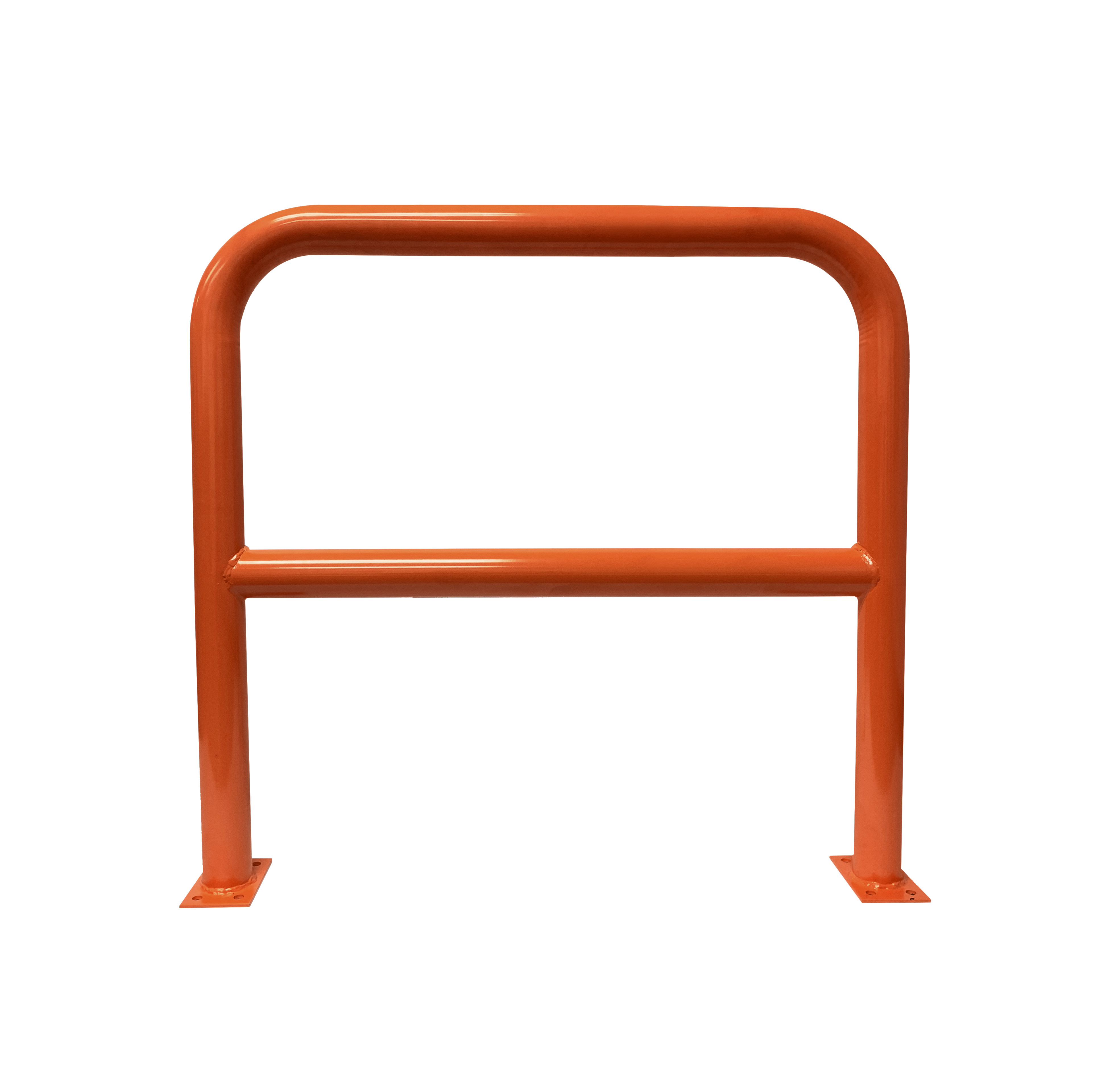 Barrier Protector - 1000mm High x 1200mm Wide - 76mm Tube Orange