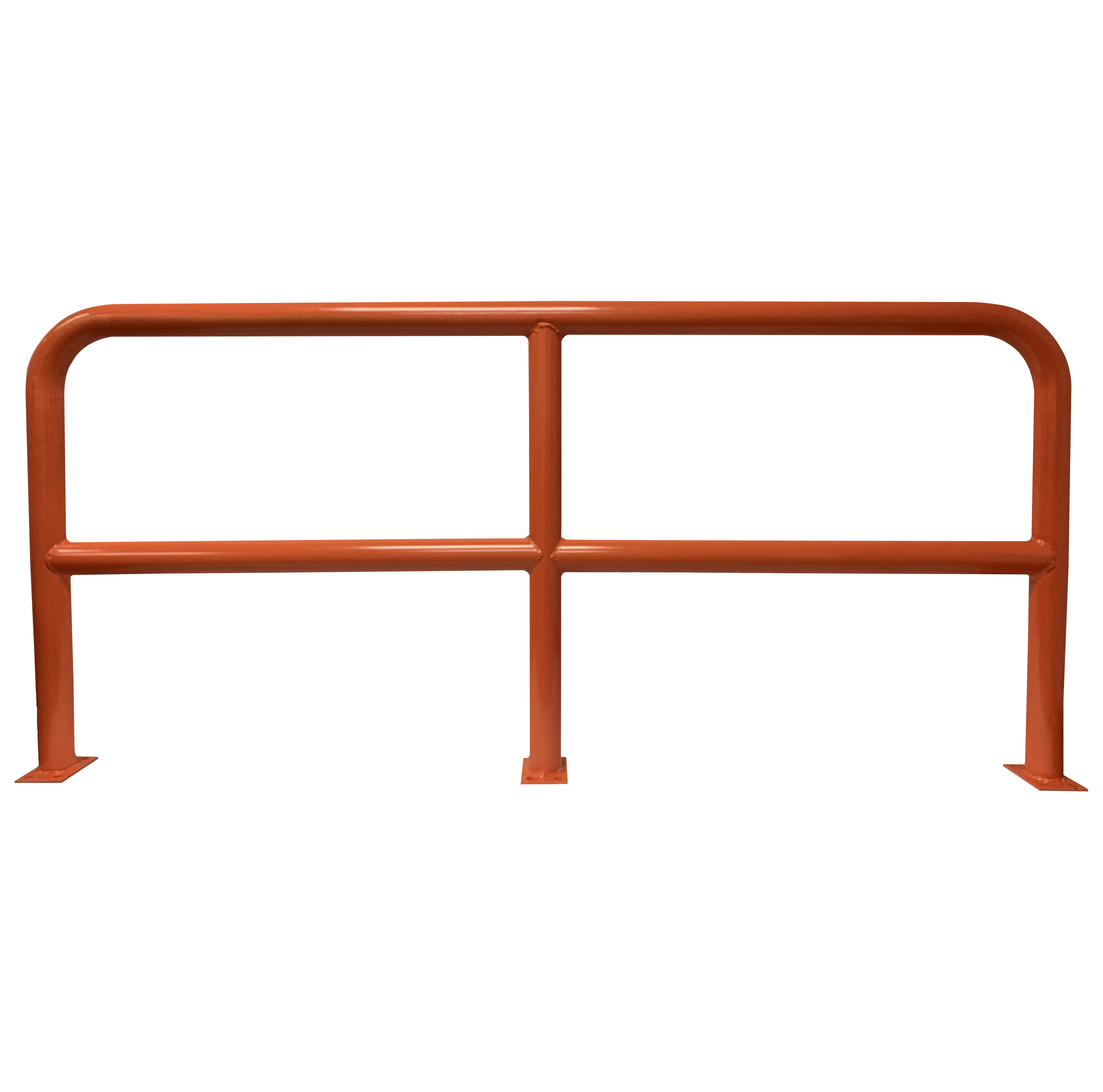 Barrier Protector - 1000mm High x 2200mm Wide - 76mm Tube Orange
