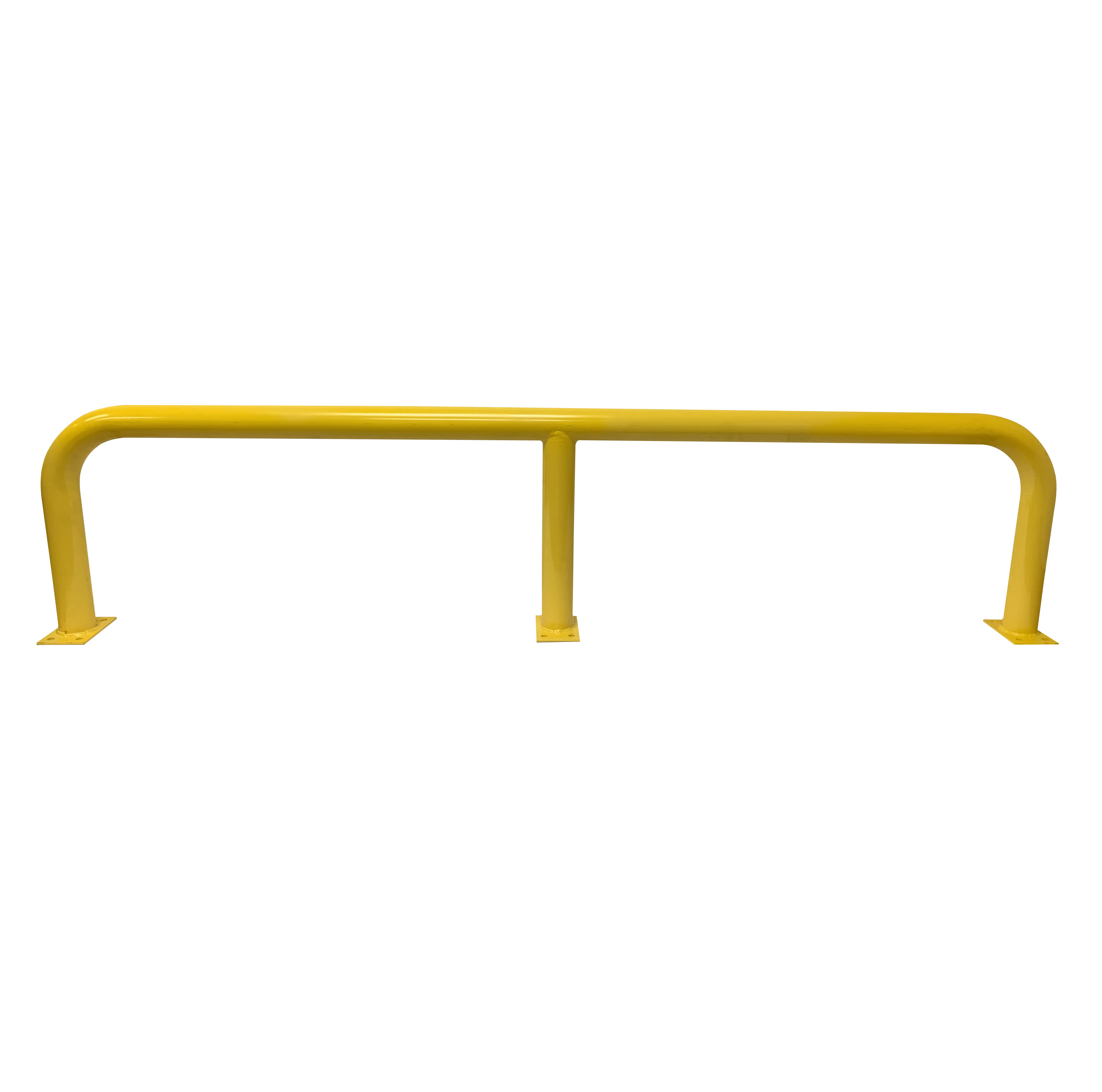 Barrier Protector - 500mm High x 2200mm Wide - 76mm Tube Yellow