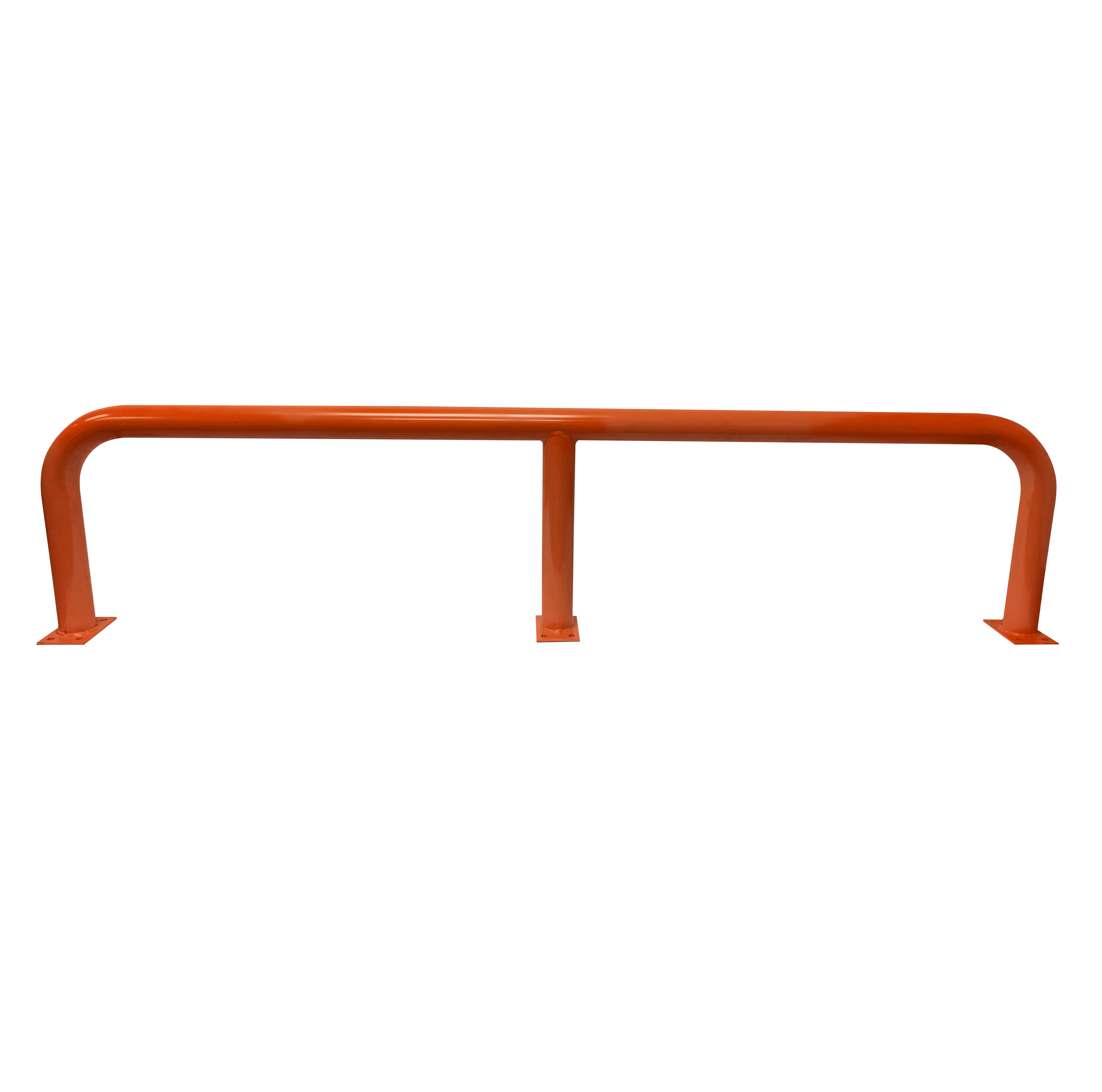 Barrier Protector - 500mm High x 2200mm Wide - 76mm Tube Orange