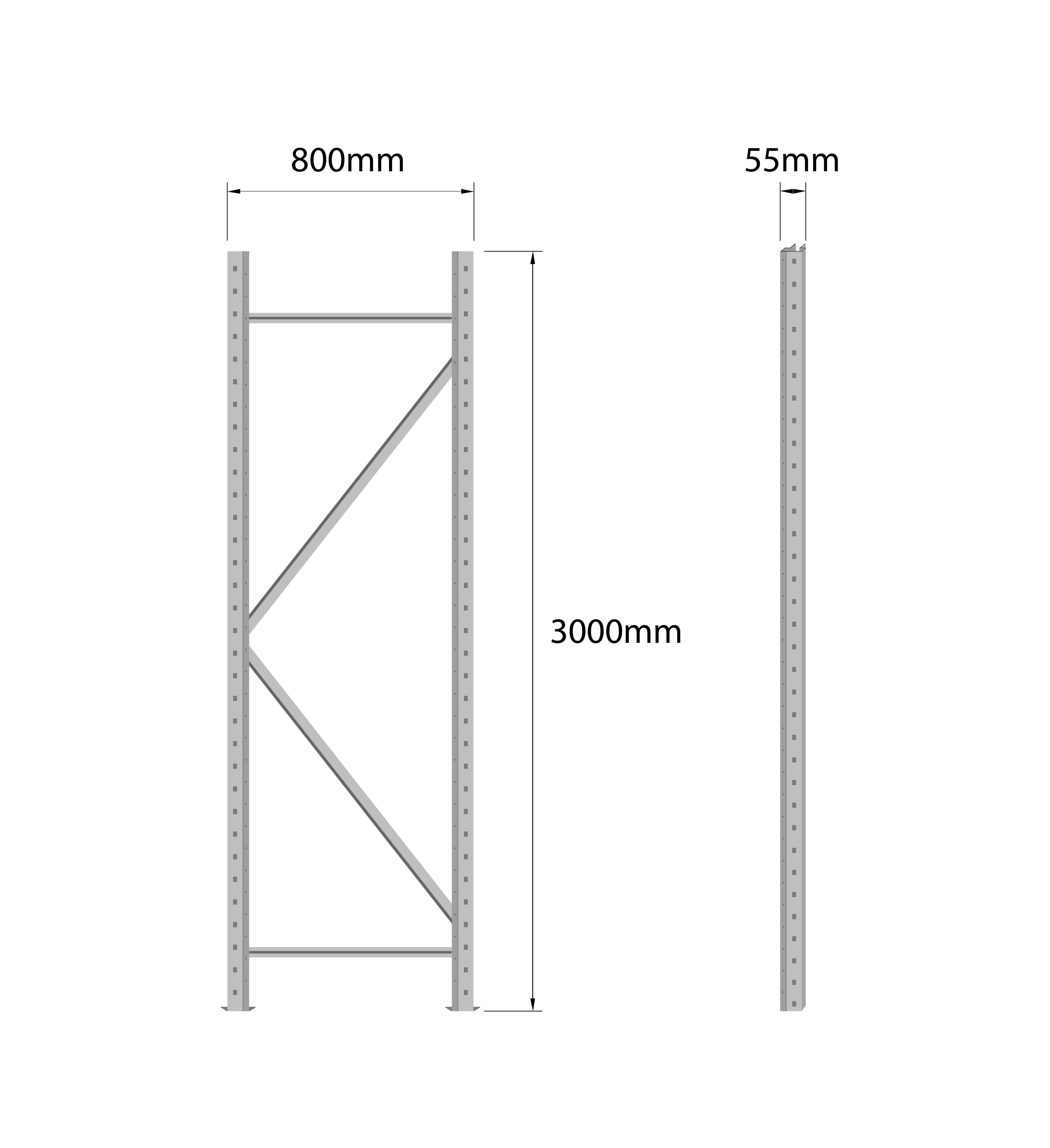 longspan - Uprights 3000mm_3000 x 800 grey.jpg