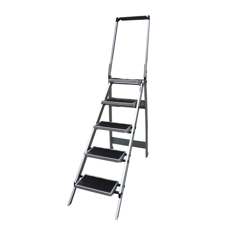 5 Step Compact Step Ladder - 1.13m