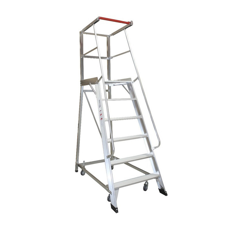 6 Step Order Picker Ladder - 1.66m