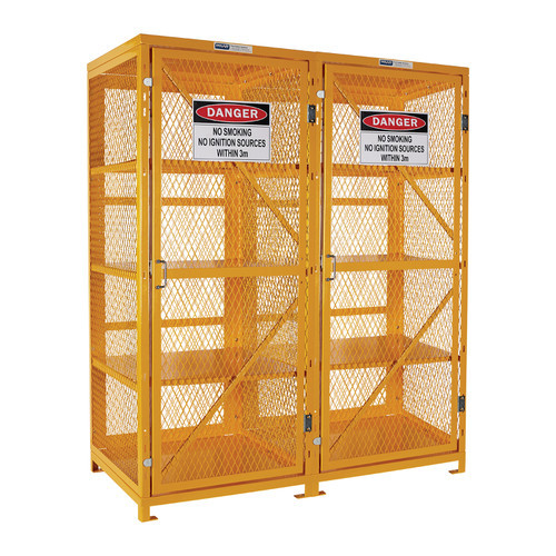 Aerosol Storage Cage - 4 Storage Level Up To 800 Cans - Assembled