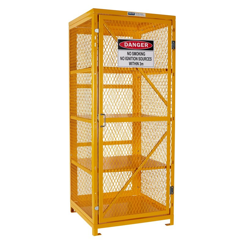 Assembled - Aerosol Storage Cage - 4 Storage Level Up To 400 Cans
