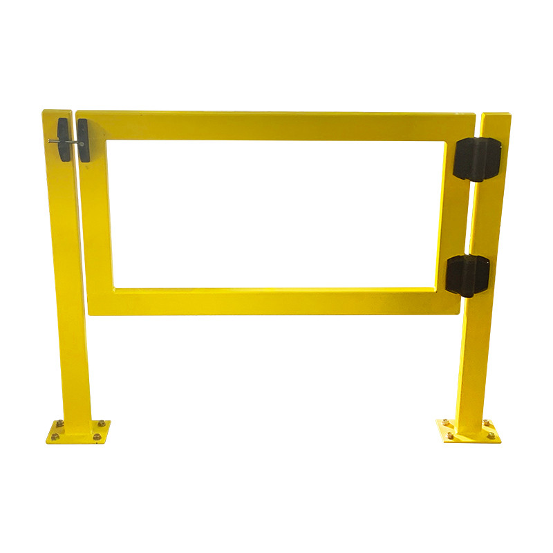 Safety Gate Single 1238mm Wide Entry x 1000mm High Yellow