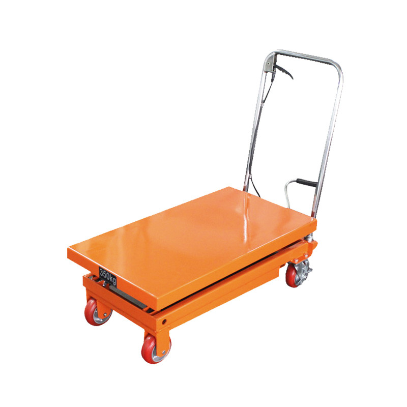 Scissor Lift Table (Orange) - 350kg