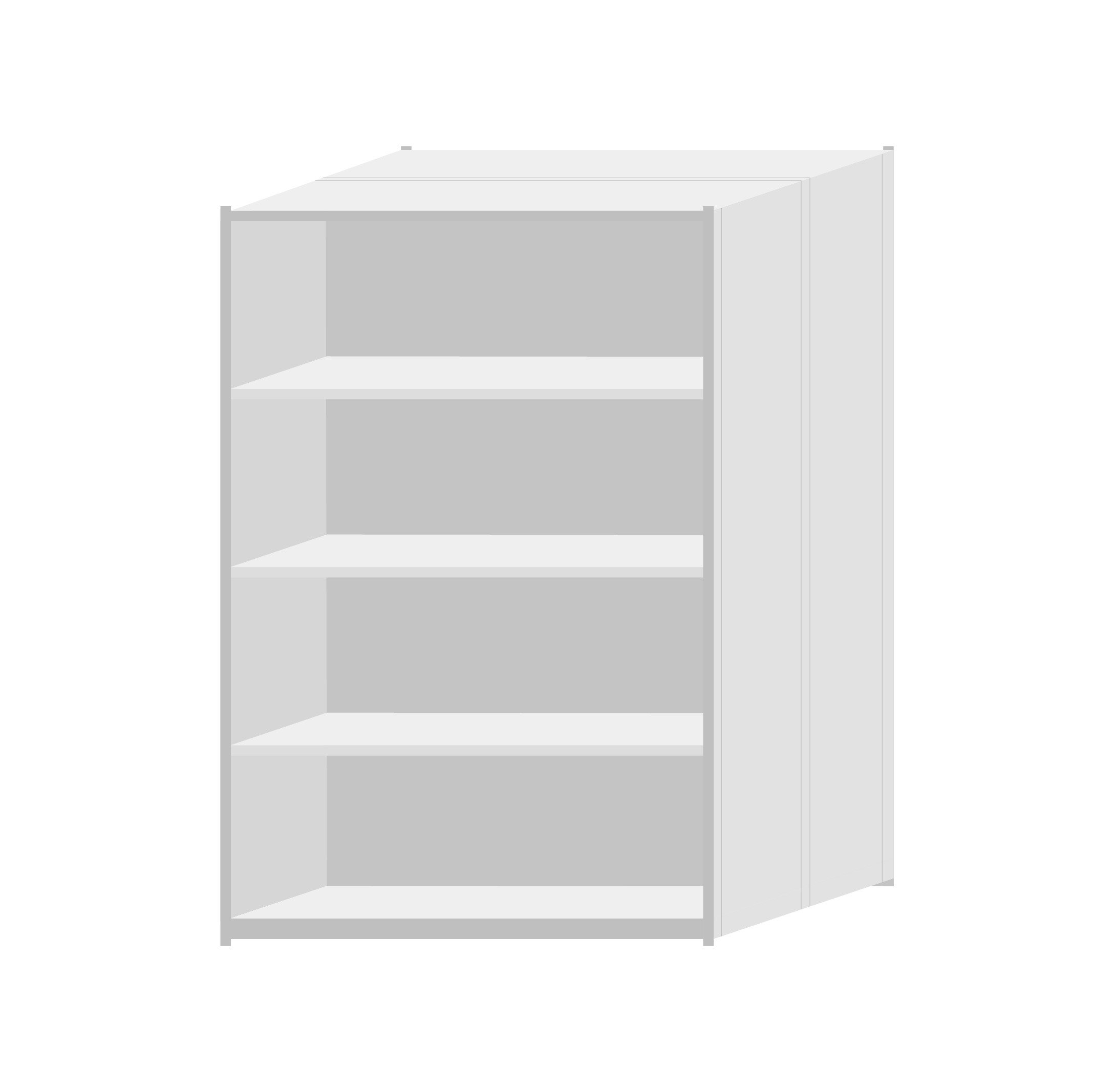 RUT Shelving 1200mm Wide - 5 Levels (Double Sided)