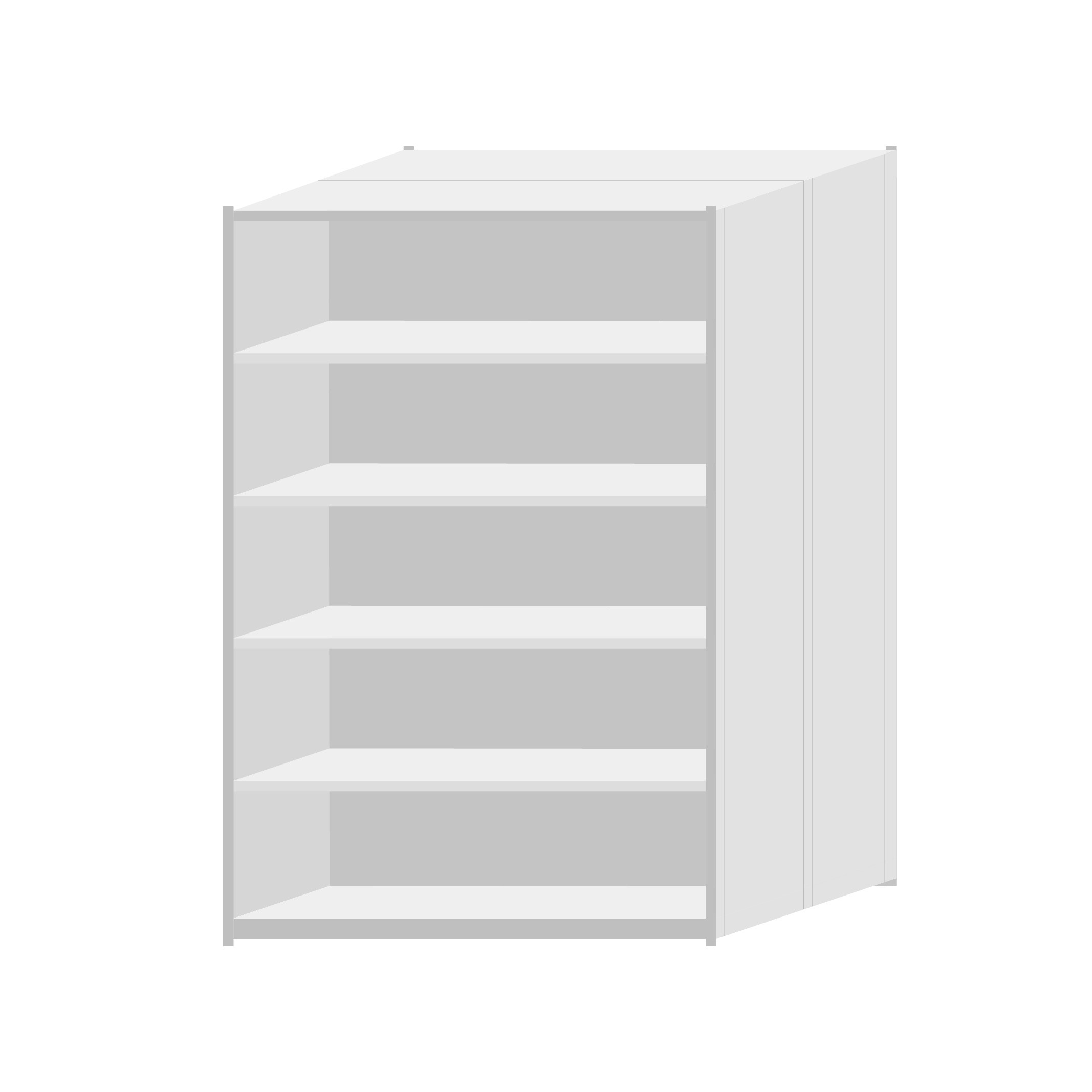 RUT Shelving 1200mm Wide - 6 Levels (Double Sided)