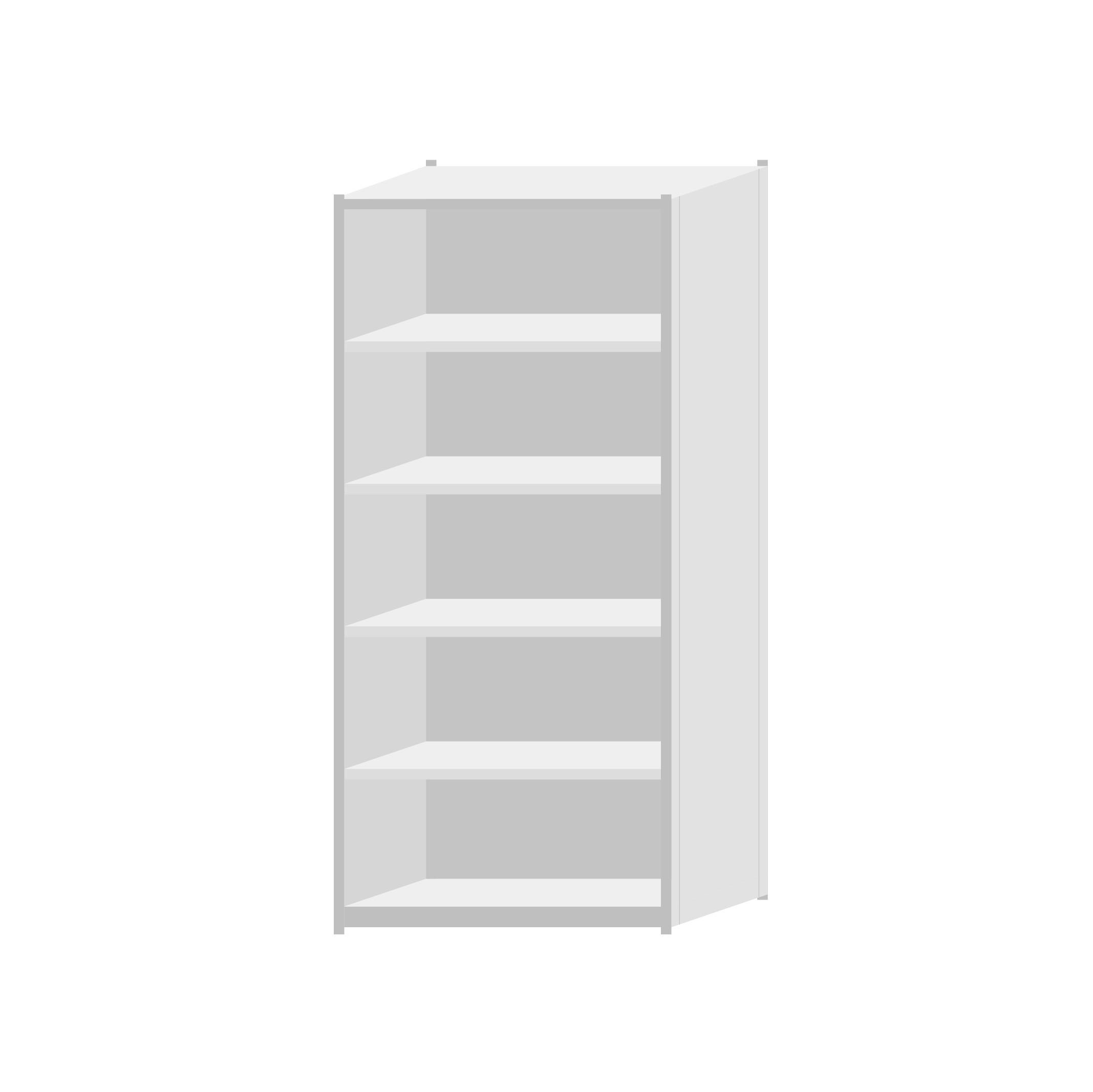 RUT Shelving 900mm Wide - 6 Levels (Single Sided)