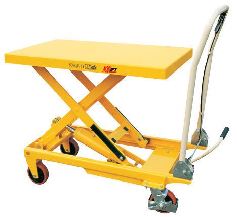 Scissor Lift Table (Yellow) - 500kg