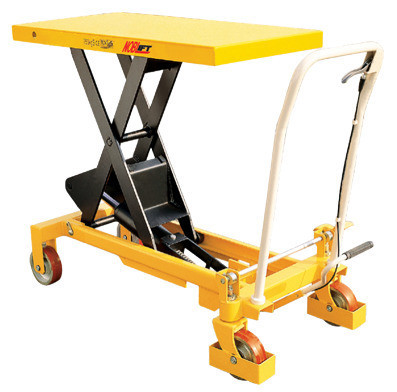Scissor Lift Table (Yellow) - 750kg