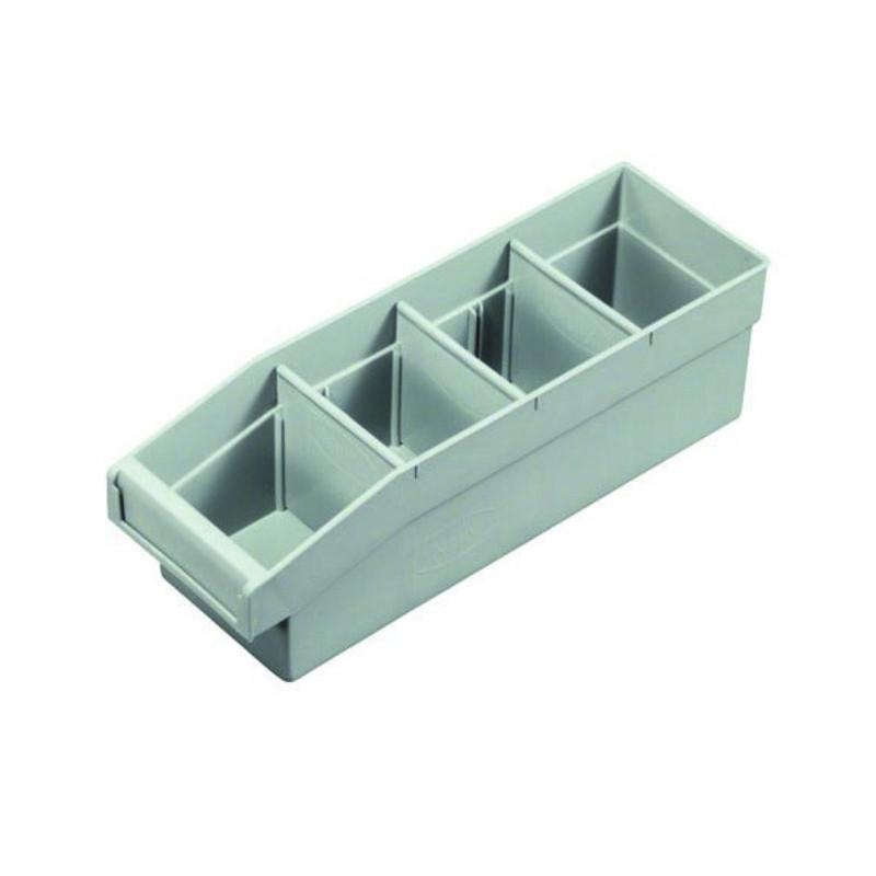 Utility Bin Grey - UBIH335 (3 Dividers Included)