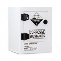 Poly Corrosive Cabinet 20 Liters - 1 Door, 1 Shelf