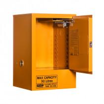 Flammable Storage Cabinet 30 Litres - 1 Door, 1 Shelf