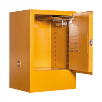 Toxic Storage Cabinet 30 Liters - 1 Door, 1 Shelf