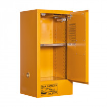 Oxidizing Agent Storage Cabinet 60 Liters - 1 Door, 2 Shelf
