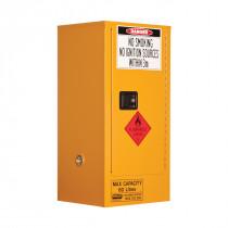 Flammable Storage Cabinet 60 Litres - 1 Door, 2 Shelf