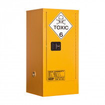 Toxic Storage Cabinet 60 Liters - 1 Door, 2 Shelf