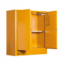 Oxidizing Agent Storage Cabinet 160 Liters - 2 Door, 2 Shelf