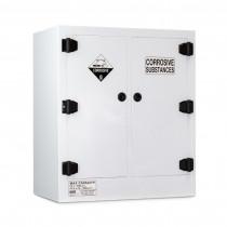 Poly Corrosive Cabinet 160 Liters - 2 Door, 4 Shelf