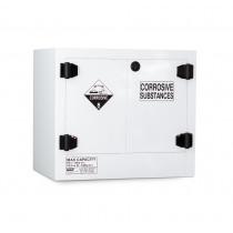 Poly Corrosive Cabinet 100 Liters - 2 Door, 1 Shelf