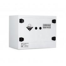 Poly Corrosive Cabinet 110 Liters - 2 Door, 2 Shelf