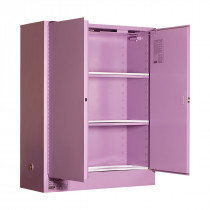 Corrosive Storage Cabinet 350 Liters - 2 Door, 3 Shelf