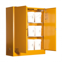 Toxic Storage Cabinet 250 Liters XL - 2 Door, 3 Shelf