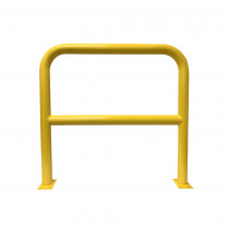 Barrier Protector - 1000mm High x 1200mm Wide - 76mm Tube Yellow