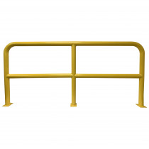 Barrier Protector - 1000mm High x 2200mm Wide - 76mm Tube Yellow