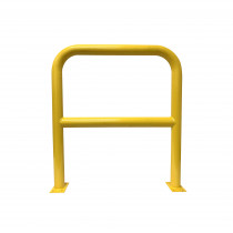 Barrier Protector - 1000mm High x 900mm Wide - 76mm Tube Yellow