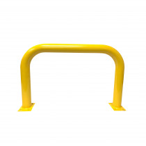 Barrier Protector - 500mm High x 900mm Wide - 76mm Tube Yellow