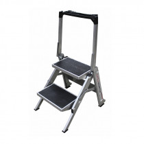 2 Step Compact Step Ladder - 0.48m