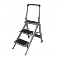3 Step Compact Step Ladder - 0.68m
