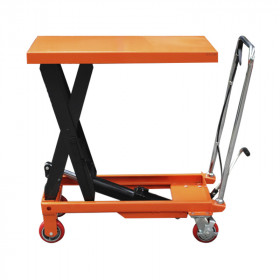 Scissor Lift Table (Orange) - 300kg