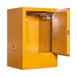 Toxic Storage Cabinet 30 Liters - 1 Door, 1 Shelf