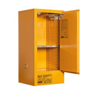Organic Peroxide Storage Cabinet 60 Liters - 1 Door, 2 Shelf