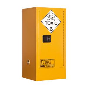 Toxic Storage Cabinet 60 Liters - 1 Door, 2 Shelf