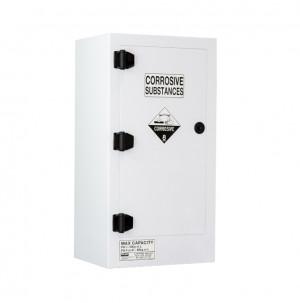 Poly Corrosive Cabinet 80 Liters - 1 Door, 2 Shelf