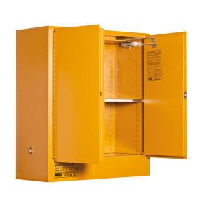 Organic Peroxide Storage Cabinet 100 Liters - 2 Door, 2 Shelf