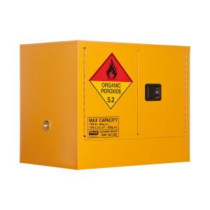 Organic Peroxide Storage Cabinet 100 Liters - 2 Door, 1 Shelf