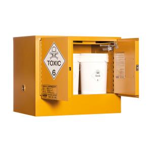 Toxic Storage Cabinet 100 Liters - 2 Door, 1 Shelf