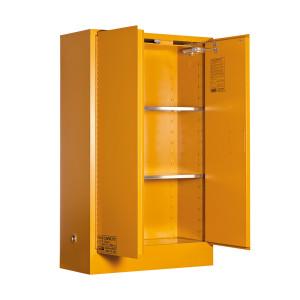 Organic Peroxide Storage Cabinet 100 Liters - 2 Door, 3 Shelf
