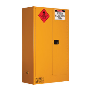 Flammable Storage Cabinet 250 Liters - 2 Door, 3 Shelf